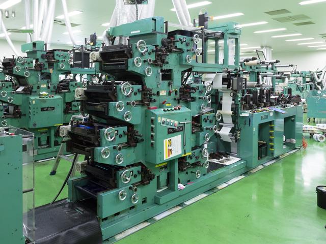凸版印刷機(平圧・間欠・輪転)